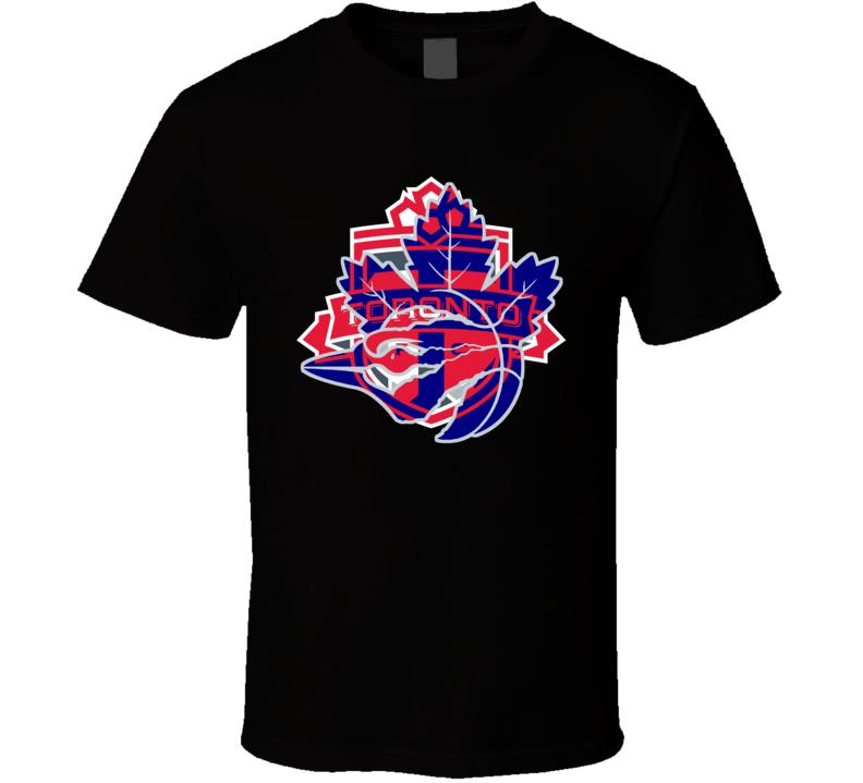 Toronto Sport Teams Mashup Hockey Soccer Baseball Basketball Fun Fan Custom T Shirt