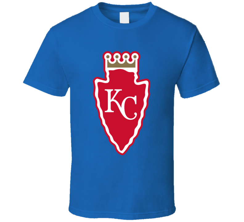 Kansas City Sport Teams Mashup Baseball Football Fun Fan T Shirt