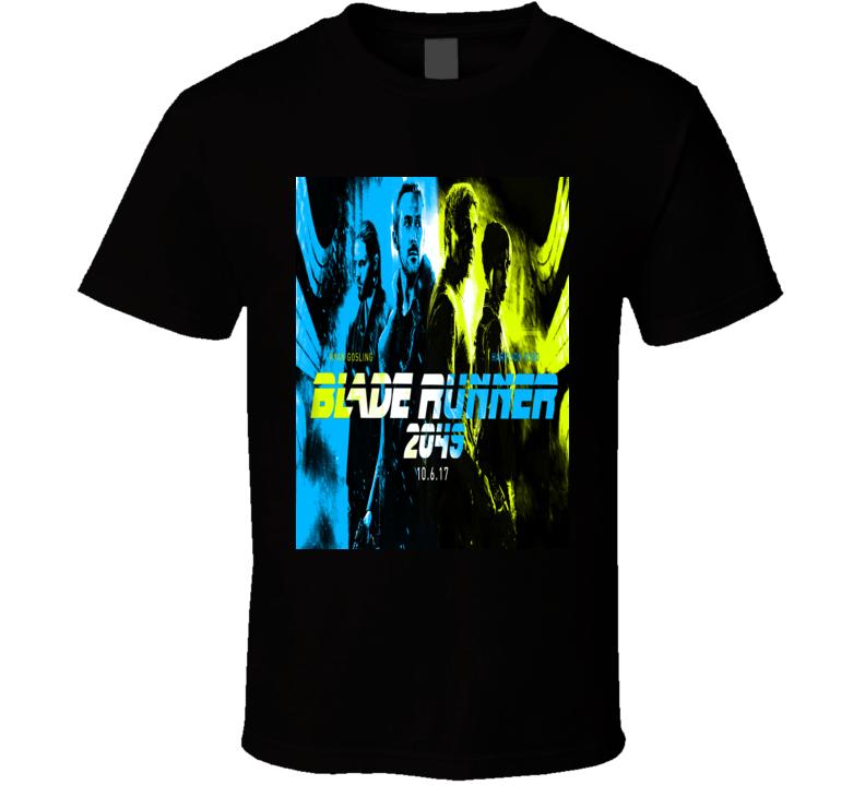 Blade Runner 2049 Replicant Bioengineered Science Fiction Film Movie Recolor Poster Fan T Shirt