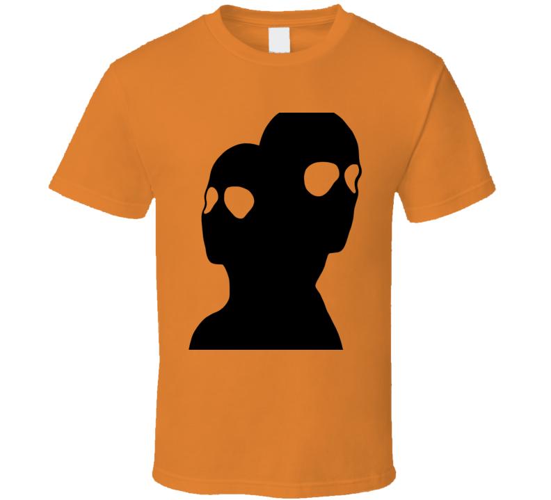 Halloween Horror Movie Slasher Alien Inspired Cenobites Fun Fan T Shirt