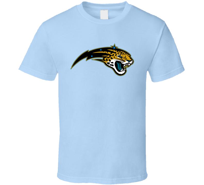 Orlando Jacksonville Sport Teams Mash Up Magic Jaguars Football Basketball Cool Re Color 2  Fun Fan T Shirt