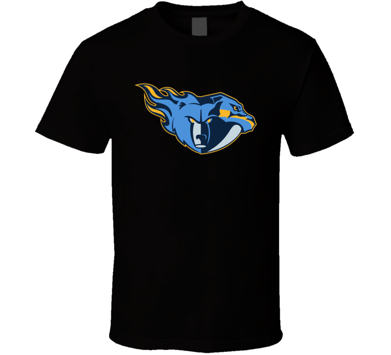 Tennessee Sport Teams Mash Up Football Basketball Hockey Fun Fan T Shirt