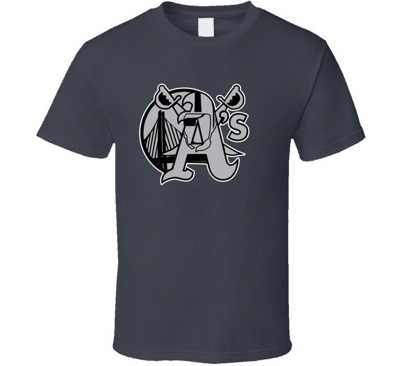 Oakland Golden State Sport Teams Mashup Basketball Baseball Football Fun Fan T Shirt