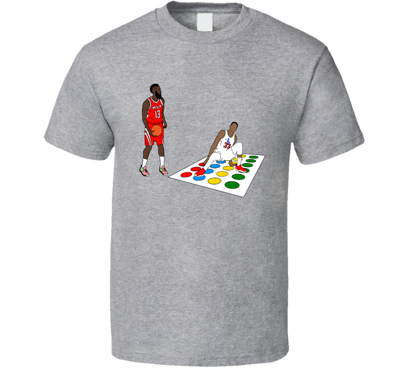 Harden Vicious Crossover Twister Houston Basketball Fun Fan T Shirt