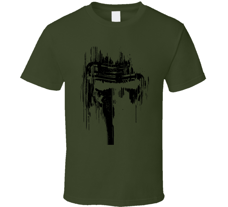 Kylo Ren Mask Re Color Fun Fan Movie T Shirt