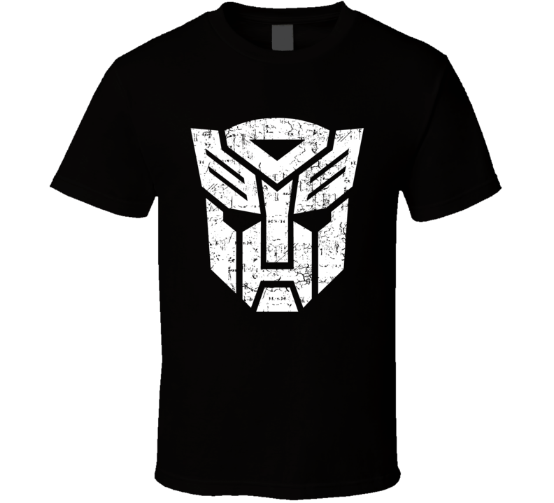 Transformers Autobots Crest Logo Distressed Cool T Shirt