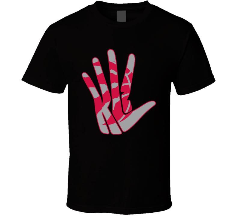 Kawhi Leonard Kl2 The Claw Toronto Sports Basketball Red Silver Design Fun Cool Fan