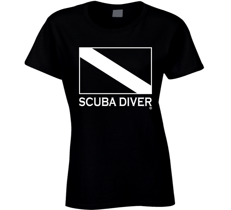 SCUBA DIVER Tee Shirt - Ladies
