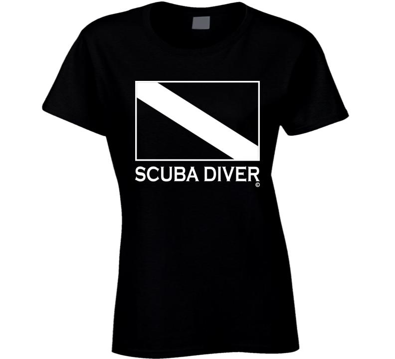 SCUBA DIVER Tee Shirt - Ladies
