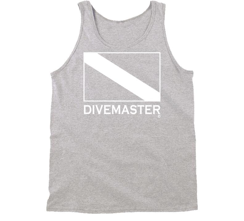 DIVEMASTER Scuba Diver Tank Shirt - Unisex