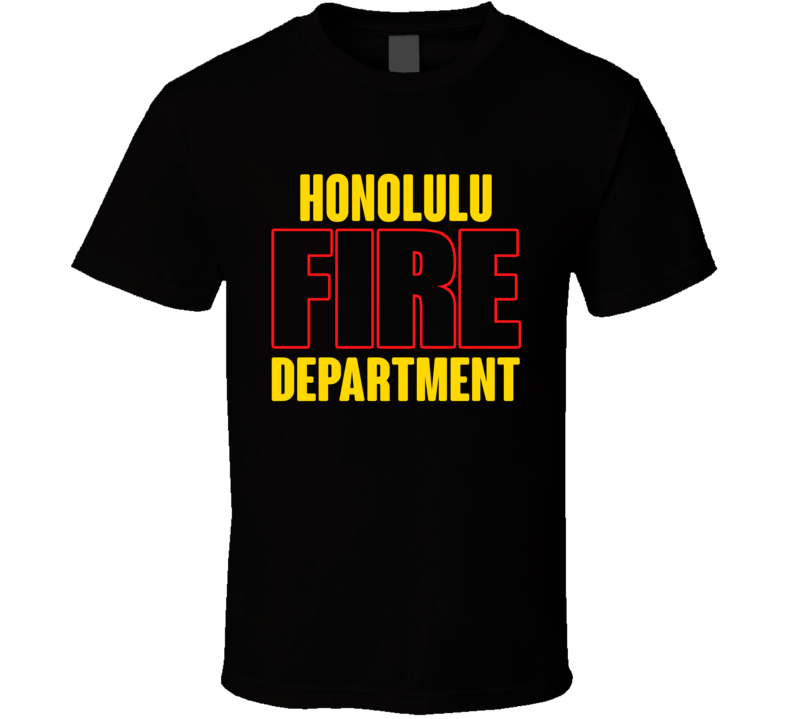 Honolulu Fire Department Personalized City T Shirt