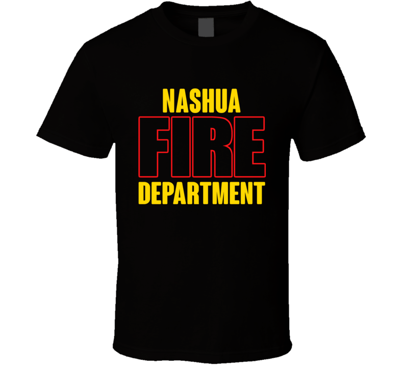 Nashua Fire Department Personalized City T Shirt