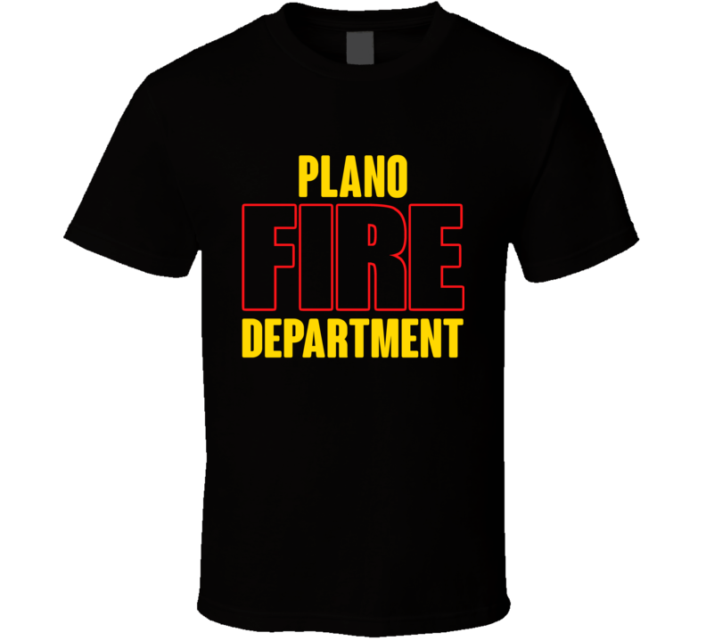 Plano Fire Department Personalized City T Shirt