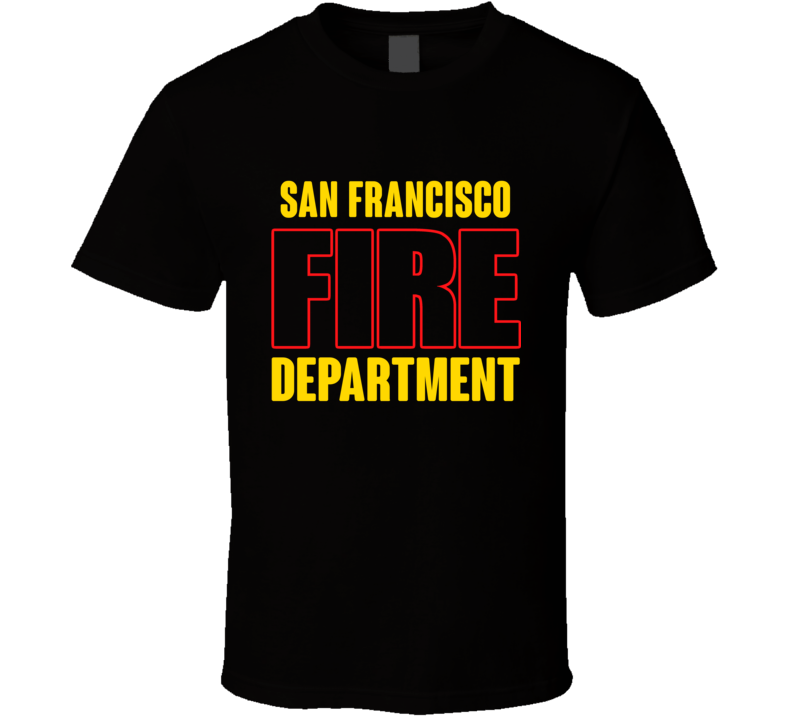 San Francisco Fire Department Personalized City T Shirt