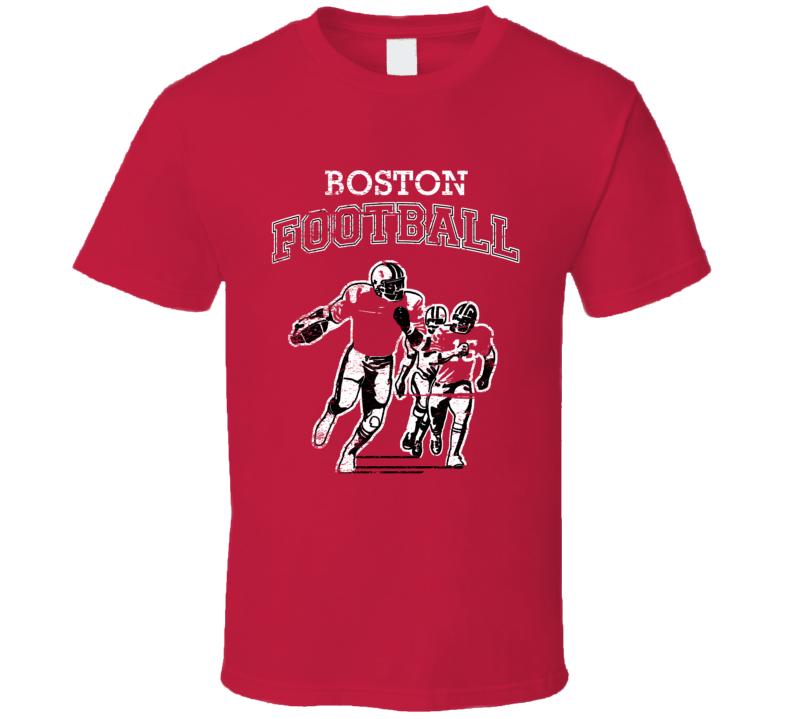 Boston Football Local Sports League T Shirt