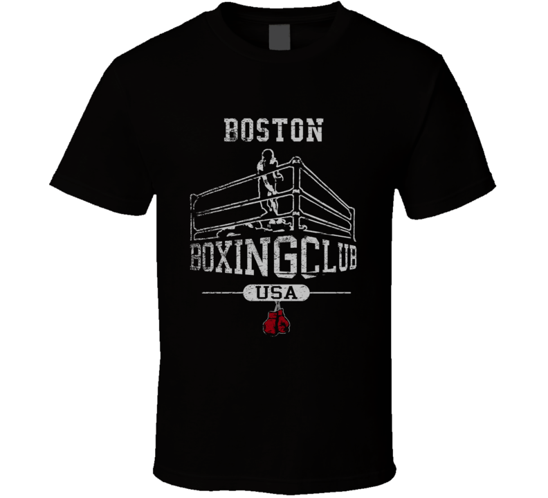 Boston Boxing Club Gym T Shirt