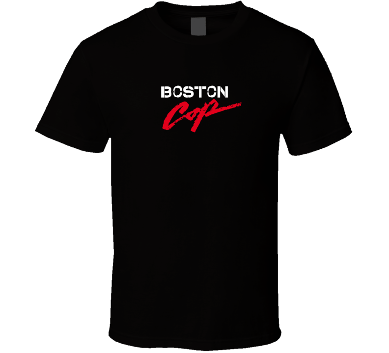 Boston Beverly Hills Cop Movie Parody T Shirt