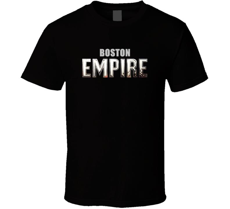 Boston Boardwalk Empire TV Show Parody T Shirt