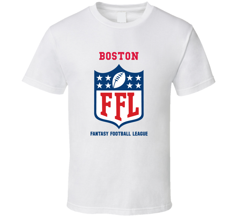 Boston Fantasy Football League T Shirt