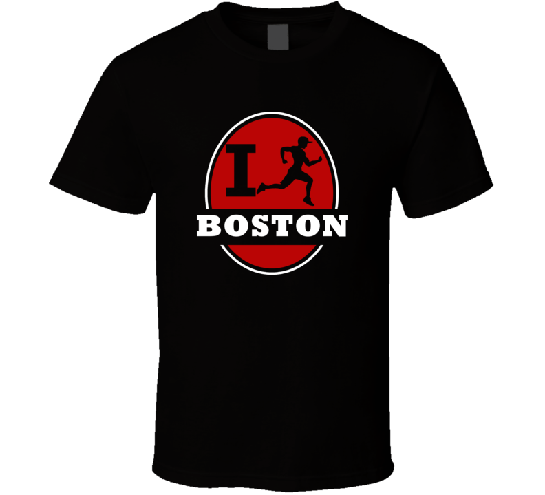 I Run Boston Jogging Running T Shirt