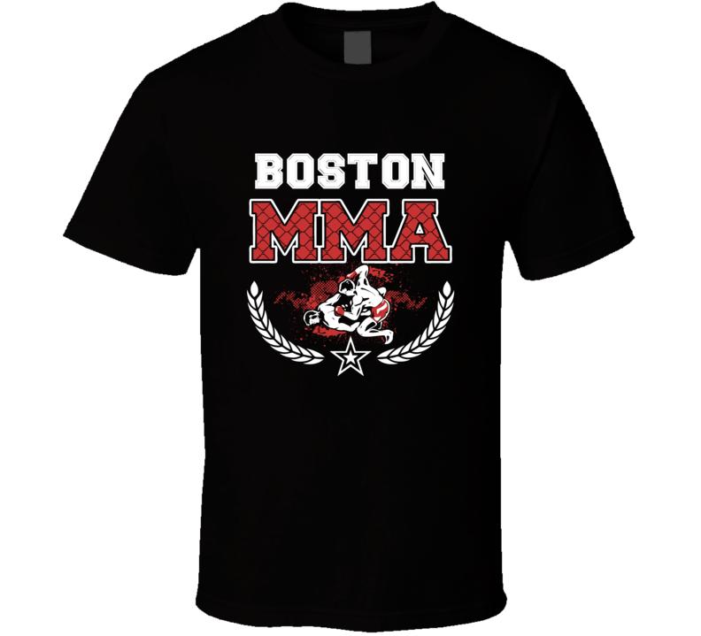 Boston MMA Fight T Shirt