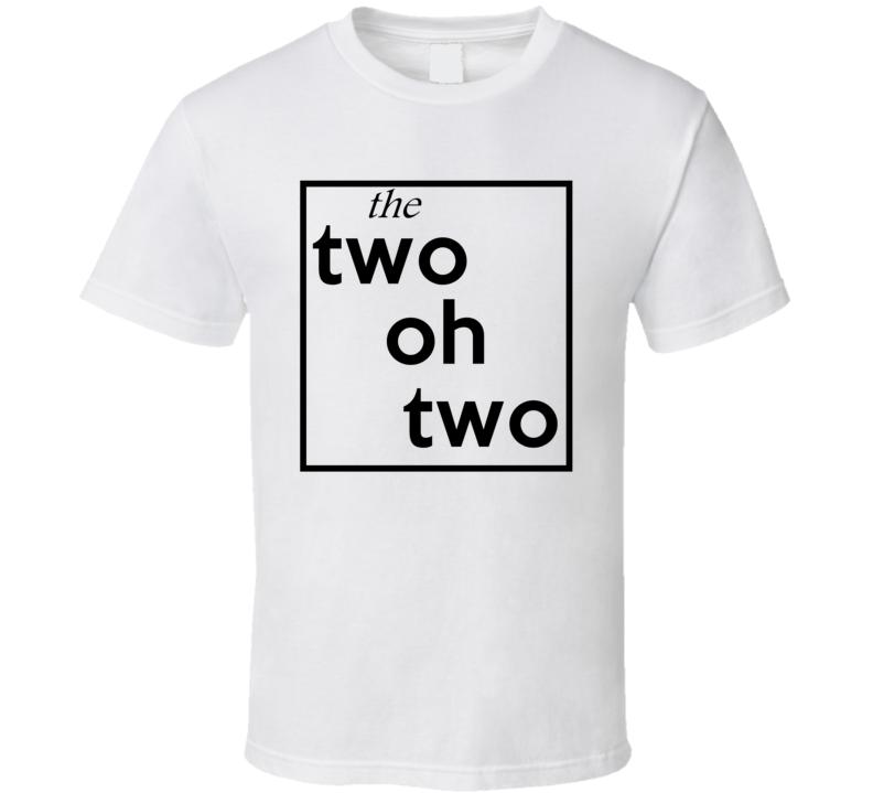 Two Oh Two Washington Dc 202 Fun Cool Area Code City Pride T Shirt