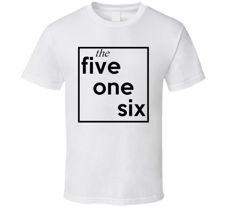 Five One Six New York 516 Fun Cool Area Code City Pride T Shirt