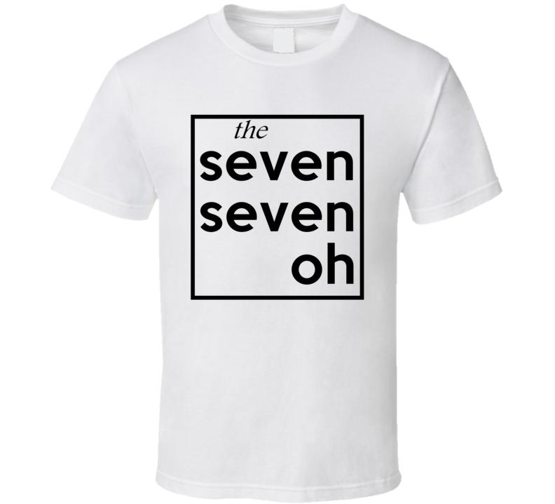 Seven Seven Oh Georgia 770 Fun Cool Area Code City Pride T Shirt