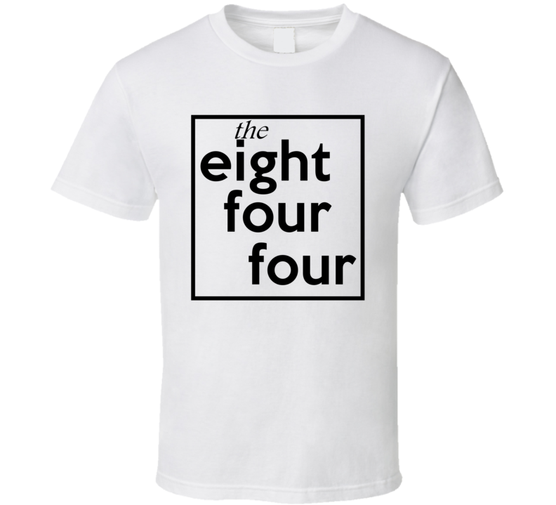 Eight Four Four Toll Free 844 Fun Cool Area Code City Pride T Shirt