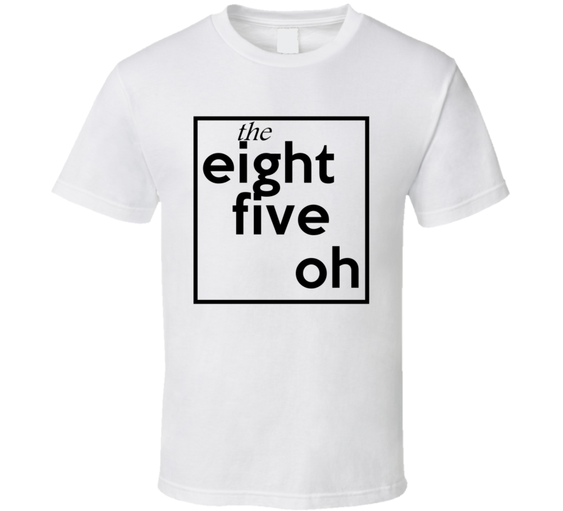 Eight Five Oh Florida 850 Fun Cool Area Code City Pride T Shirt