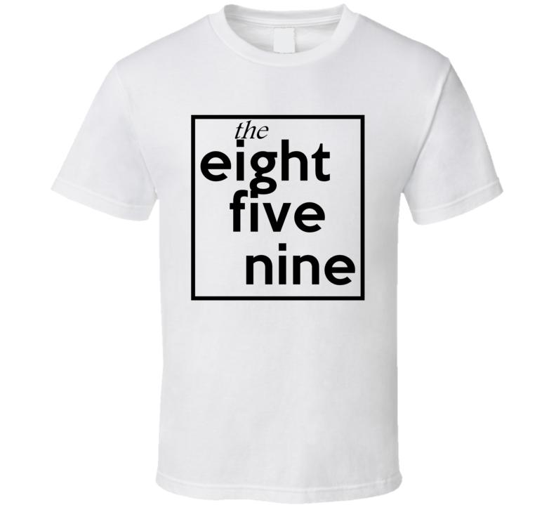 Eight Five Nine Kentucky 859 Fun Cool Area Code City Pride T Shirt