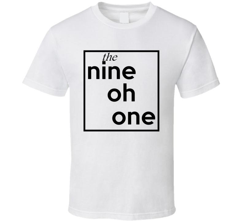 Nine Oh One Tennessee 901 Fun Cool Area Code City Pride T Shirt