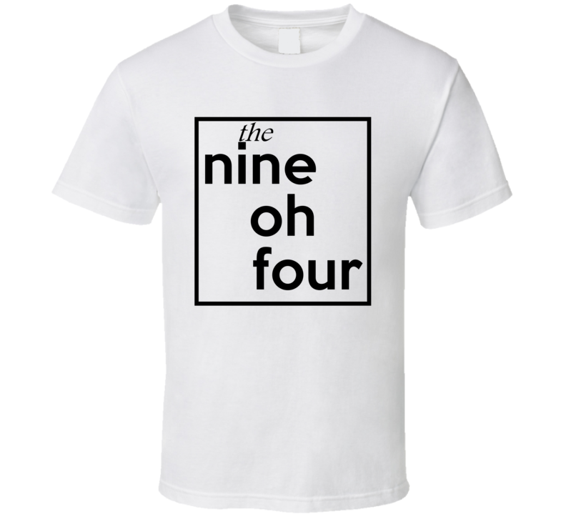 Nine Oh Four Florida 904 Fun Cool Area Code City Pride T Shirt