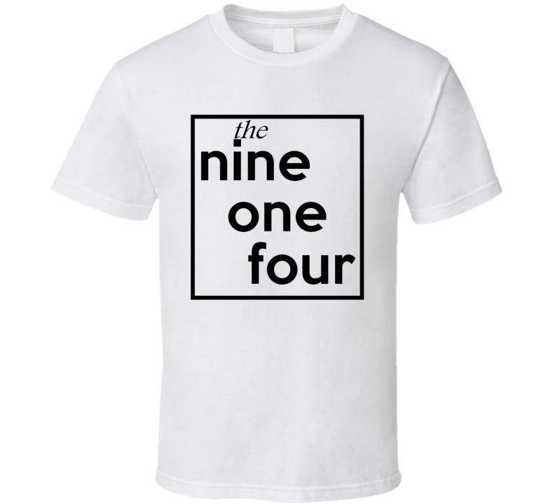 Nine One Four New York 914 Fun Cool Area Code City Pride T Shirt