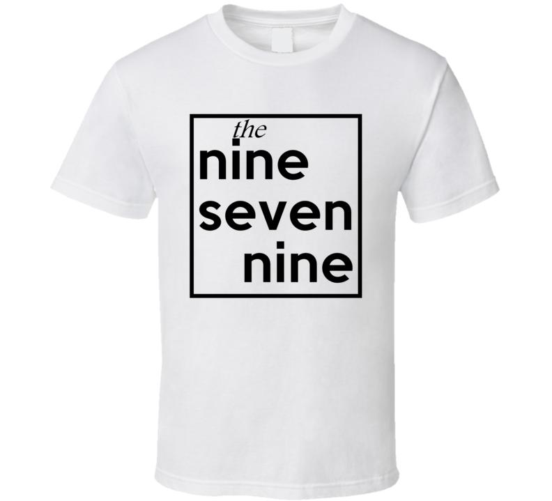 Nine Seven Nine Texas 979 Fun Cool Area Code City Pride T Shirt