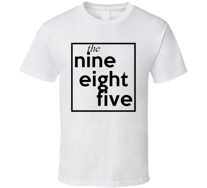 Nine Eight Five Louisiana 985 Fun Cool Area Code City Pride T Shirt