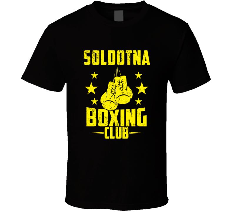 Soldotna Alaska Boxing Club Cool Sports Fitness T Shirt