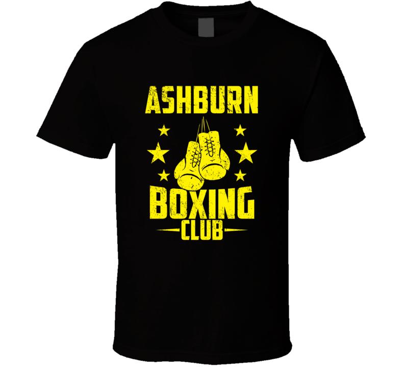 Ashburn Virginia Boxing Club Cool Sports Fitness T Shirt