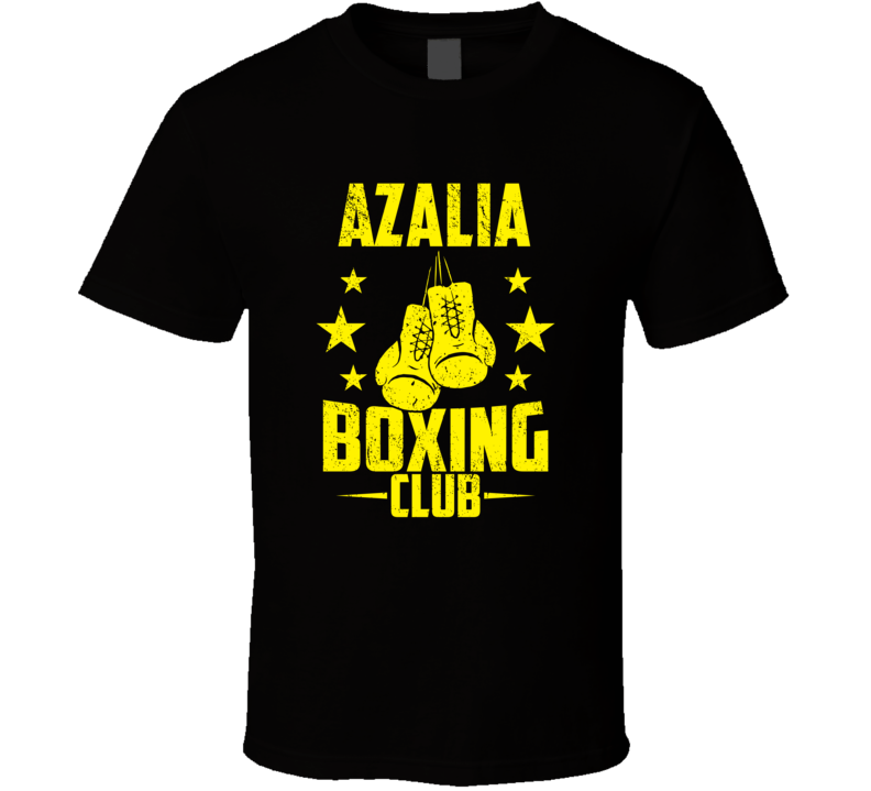 Azalia Michigan Boxing Club Cool Sports Fitness T Shirt