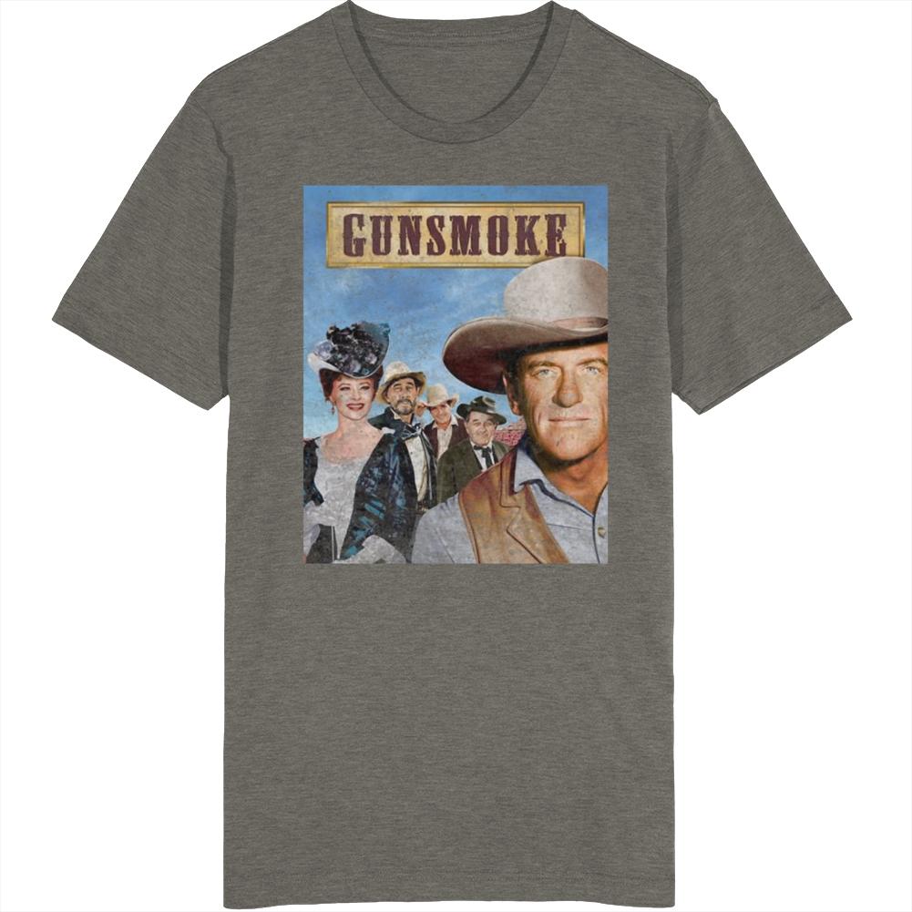 Gunsmoke Vintage Tv Show T Shirt