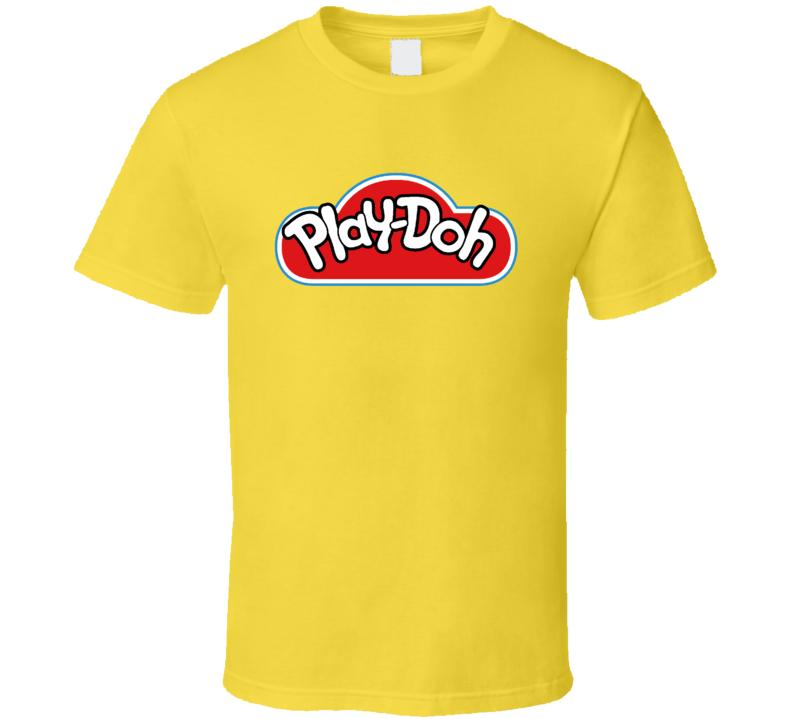 Playdoh Yellow Halloween Group Costume T Shirt
