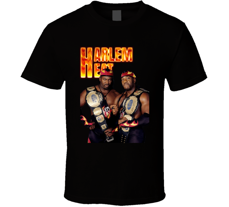 Harlem Heat Wrestling Tag Team Champions Fan T Shirt