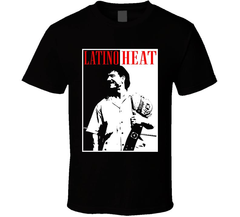 Eddie Guerrero Latino Heat Pro Wrestling Legend Scarface Style T Shirt