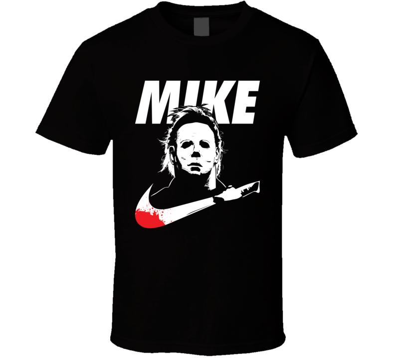 Michael Myers Mike Nike Halloween Parody T Shirt