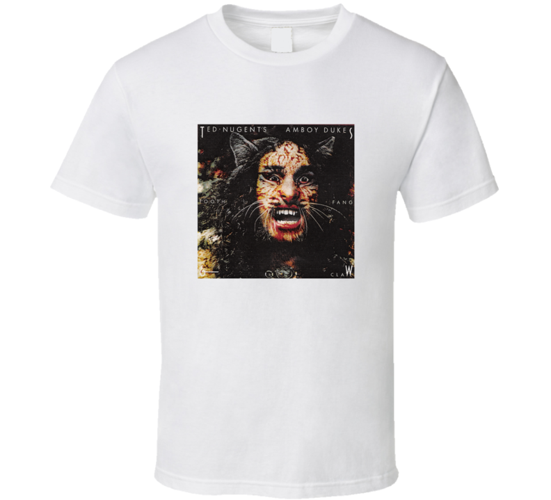Dazed And Confused Halloween Costume Ted Nugent Amboy Dukes T Shirt