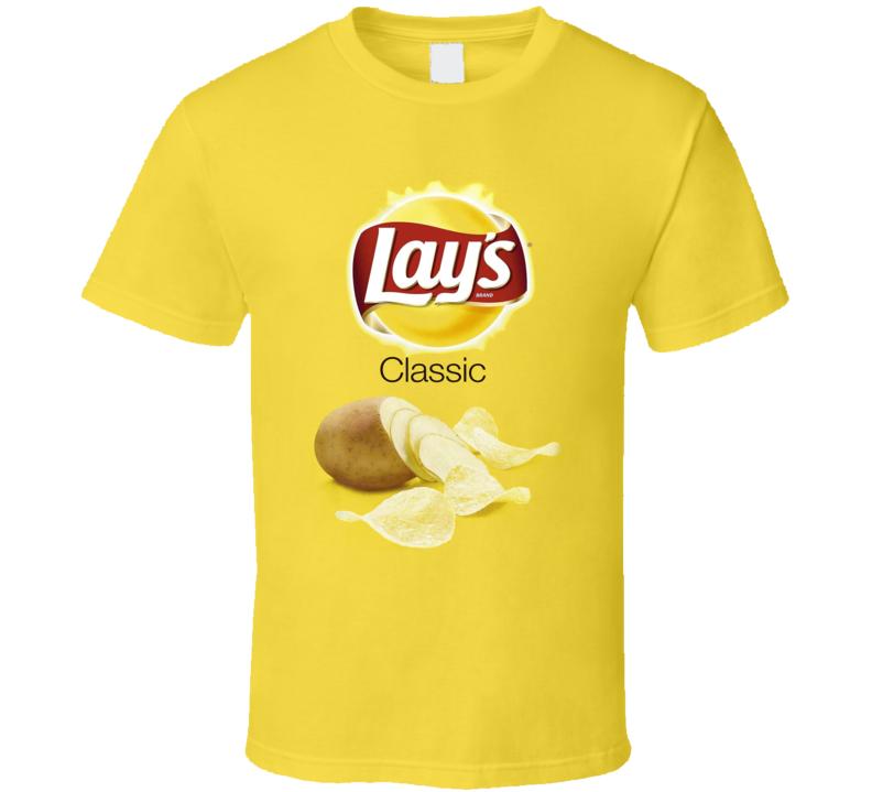 Lay's Classic Potato Chips Bag Costume T Shirt