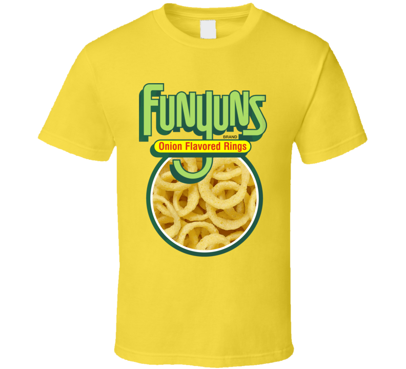 Funyuns Onion Flavored Rings Snack Foodie Fan T Shirt
