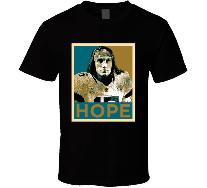 Trevor Lawrence Jacksonville Football Fan Hope Style T Shirt