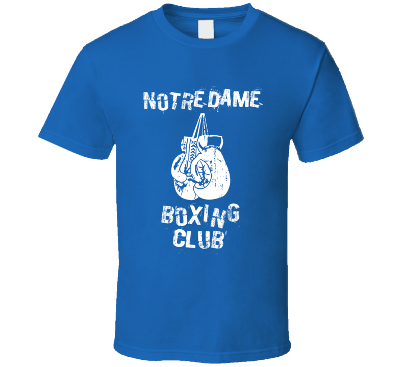 Notre Dame Boxing Club City T Shirt