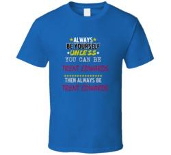 Trent Edwards Buffalo New York Football Sports Always Be Yourself T Shirt